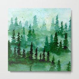 Deep in the pine woods Metal Print