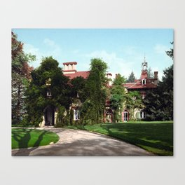 """Sunnyside,"" home of Washington Irving Canvas Print"