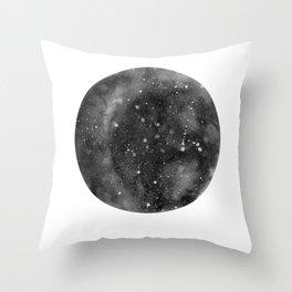 Trust the Universe - grey Throw Pillow