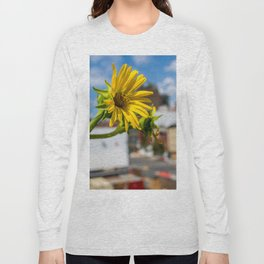 Yellow Flower in NYC Long Sleeve T-shirt