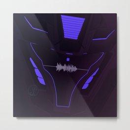 Soundwave the Decepticon Spymaster Transformers Prime Metal Print