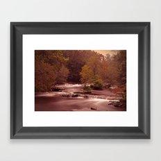 Blackberry Falls Waterscape Framed Art Print
