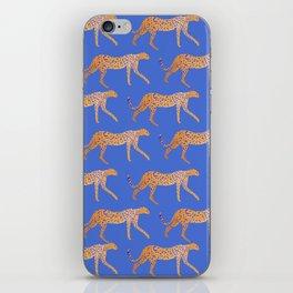 Leopard - Orange iPhone Skin