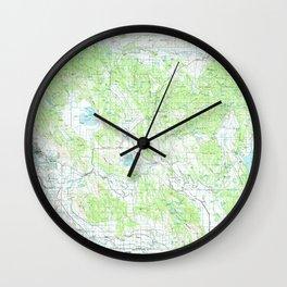 OR Klamath Falls 283090 1991 topographic map Wall Clock