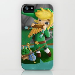 Link and Makar iPhone Case