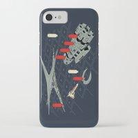 battlestar iPhone & iPod Cases featuring You Sunk My Battlestar by Caddywompus