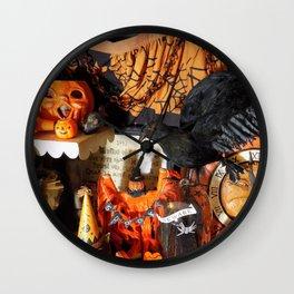 Magical Halloween Menagerie Wall Clock