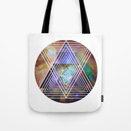 Cosmogeometry Tote Bag