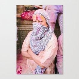 INDIA 34 Canvas Print