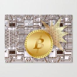 Bitcoin 14 Canvas Print