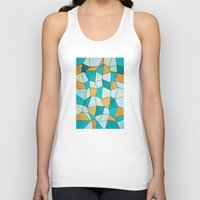 square Tank Tops featuring Square by sinonelineman