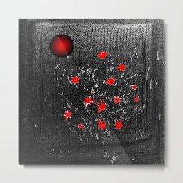 Red star Metal Print