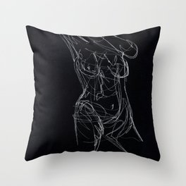 Strong and Casual Throw Pillow