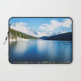 Clinton Gulch // Day Light Mountain Lake Forest Snow Peak Landscape Photography Hiking Decor Laptop Sleeve