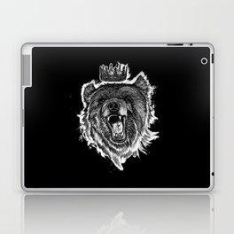 Berlin Bear King Laptop & iPad Skin