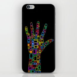 Mobile Phones Hand iPhone Skin