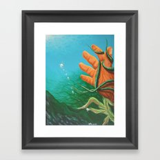 The Drowning Framed Art Print