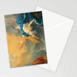 "Jean-Honoré Fragonard ""The goddess Aurora triumphs over night - a bozzetto"" Stationery Cards"