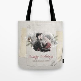 OUAT HAPPY HOLIDAYS // Captain Swan Tote Bag