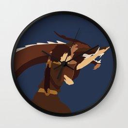 Avatar The Last Airbender Minimalist Zuko Wall Clock