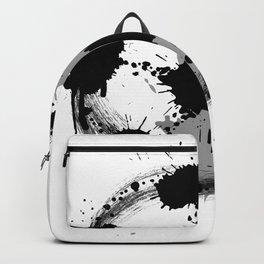 Grunge football ball Backpack