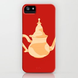 MADE IN MOROCCO #09-THE TEAPOT iPhone Case