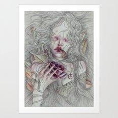 Mary Rogers Art Print