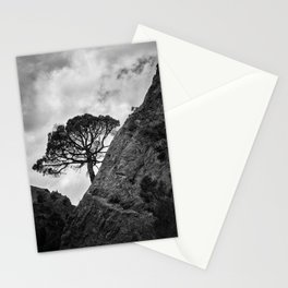 Mountain Tree. At the mountain Stationery Cards