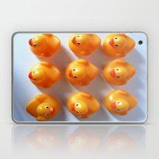 Rubber Ducks in a Row Laptop & iPad Skin