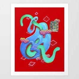 Alien Organism 20 Art Print