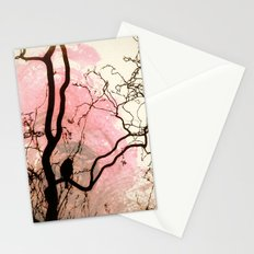 L'oiseau sur l'Arbre Stationery Cards