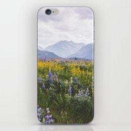 Waterton Wildflowers iPhone Skin