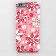 Poinsettia Slim Case iPhone 6s