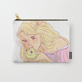 rapunzel and pascal Carry-All Pouch