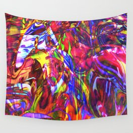 Fluid Painting  Wall Tapestry