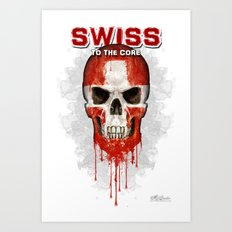 To The Core Collection: Switzerland Art Print