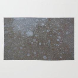 frozen bubbles Rug