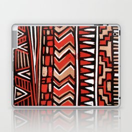 Aztec lino print Laptop & iPad Skin
