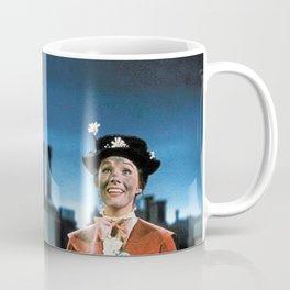 Darth Vader in Mary Poppins Coffee Mug