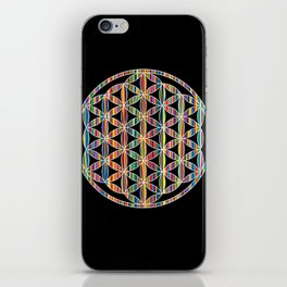 Flower of Life Colored | Kids Room | Delight iPhone Skin