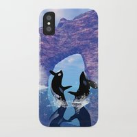 orca iPhone & iPod Cases featuring Orca  by nicky2342