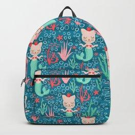 Mermaid Cats Backpack