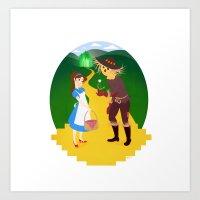 oz Art Prints featuring Oz by Kyrstin Avello