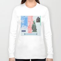 allyson johnson Long Sleeve T-shirts featuring Magic Johnson by Young Weirdos Guild