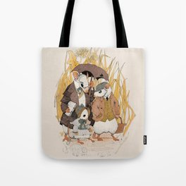 Papa and His Friend Tote Bag