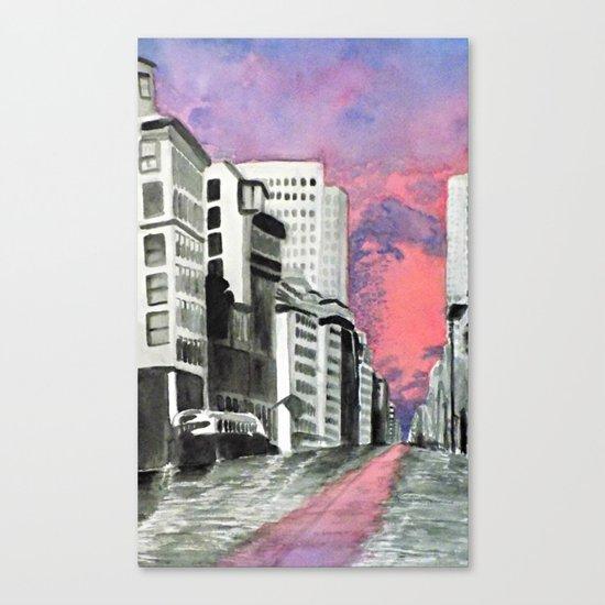 Metropolitan Impressions Canvas Print