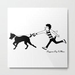 Walk Together ? Metal Print