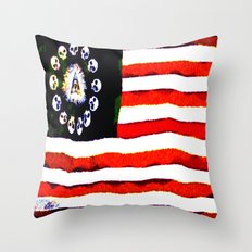 AMERICAN PIRATE 005 Throw Pillow