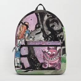 Alice & the Cheshire Cat Backpack