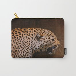 Snarling Leopard Carry-All Pouch